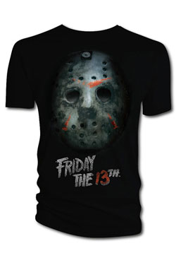 Friday the 13th T-Shirt Bloody Mask  Size XL