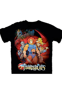 Thundercats T-Shirt Standing Group  Size L