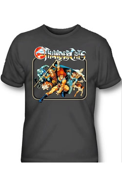 Thundercats T-Shirt Square Group Size L