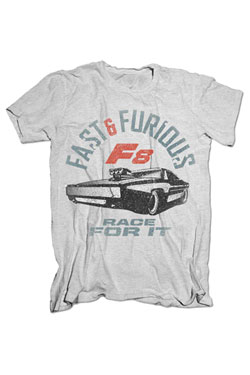 Fast & Furious 8 T-Shirt Race For It Size L