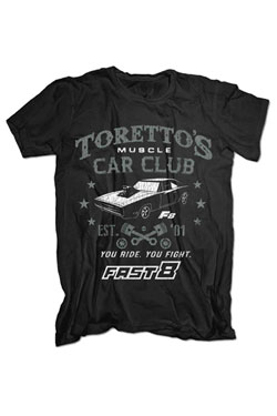 Fast & Furious 8 T-Shirt You Ride, You Fight Size L