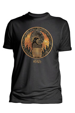 Fantastic Beasts T-Shirt Magical Congress of United States Of America  Size M
