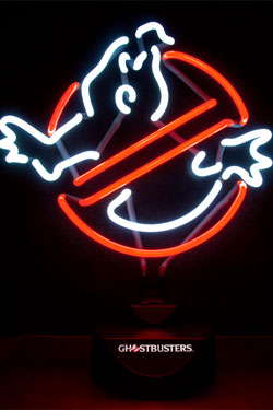Ghostbusters Neon Light No Ghost 32 x 38 cm