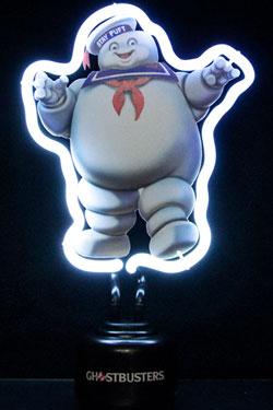 Ghostbusters Neon Light Marshmallow Man 17 x 26 cm