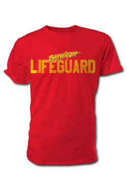 Baywatch T-Shirt Lifeguard Size L