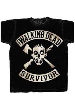 The Walking Dead T-Shirt Survivor Size M