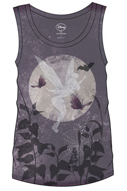 Disney Sublimation Girlie Tank Top Tinkerbell Dark Size L