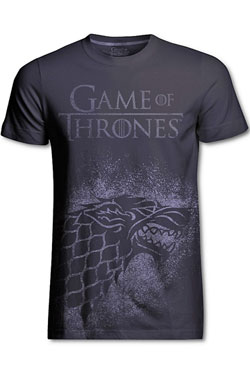 Game of Thrones T-Shirt Stark Jumbo Print Size L