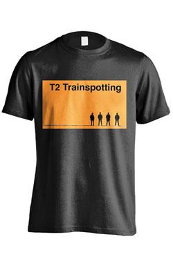 T2 Trainspotting T-Shirt Logo Size L