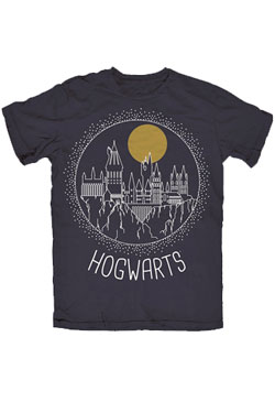 Harry Potter T-Shirt Circular Hogwarts Size M