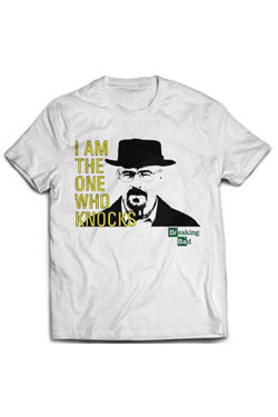 Breaking Bad T-Shirt I Am The One Who Knocks  Size S