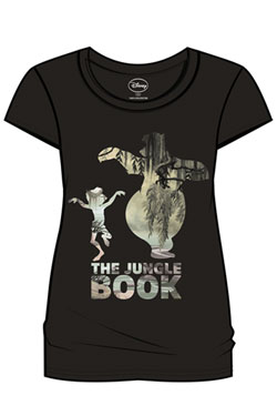 The Jungle Book Ladies T-Shirt Dance  Size S