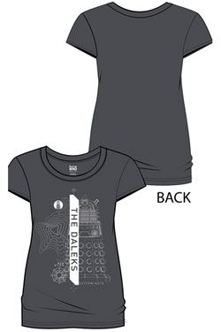 Doctor Who Ladies T-Shirt Daleks Size XXL