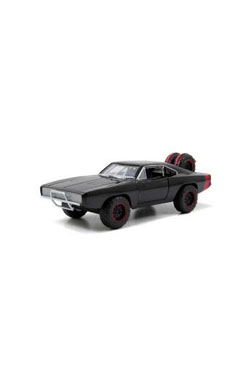Fast & Furious 7 Diecast Model 1/24 1970 Dodge Charger Off Road Black