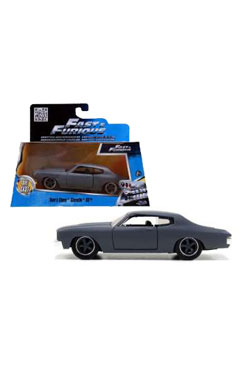 Fast & Furious Diecast Model 1/32 1970 Chevrolet Chevelle *grey*
