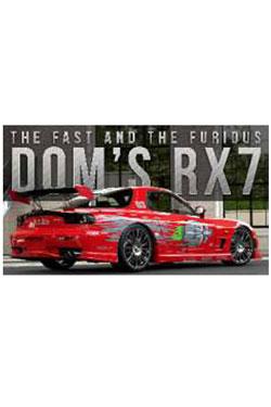 Fast & Furious Diecast Model 1/24 Dom's 1995 Mazda RX-7