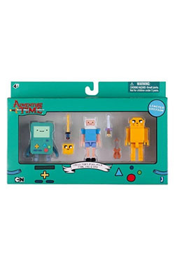 Adventure Time Trading Figures 3-Pack 7 cm