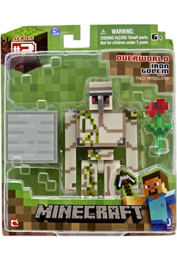 Minecraft Action Figure Iron Golem 8 cm