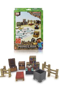 Minecraft Papercraft Figure Set Utility Pack
