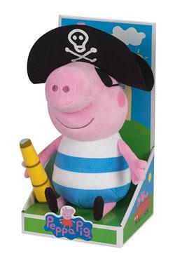 Peppa Pig Plush Figure Pirate 25 cm