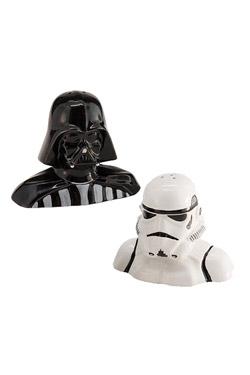 Star Wars Salt and Pepper Pots Darth Vader and Stormtrooper