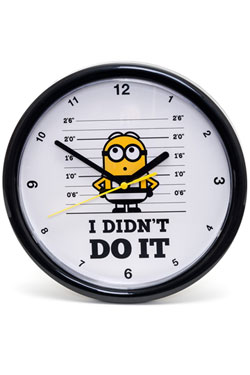 Despicable Me 3 Wall Clock I Didn't Do It