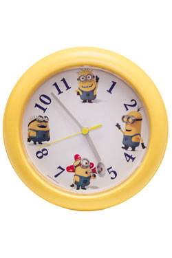 Despicable Me 3 Wall Clock with Sound Buddies