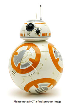 Star Wars Episode VII Giant Size Action Figure BB-8 45 cm Case (2)