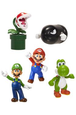 Super Mario World of Nintendo Vinyl Figures 5-Pack 6 cm Classic