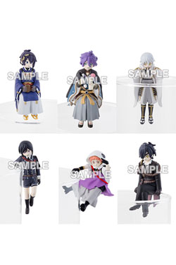 Touken Ranbu Online Putitto Series Trading Figure 5 cm Assortment (6)