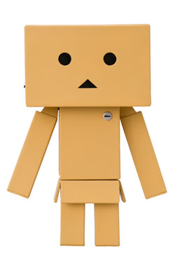 Yotsubato! Sofubi Toy Box 002 Soft Vinyl Action Figure Danboard 13 cm