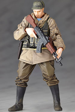 Metal Gear Solid V The Phantom PainAction Figure Micro Yamaguchi rmex-002 Soviet Army Soldier 13 cm
