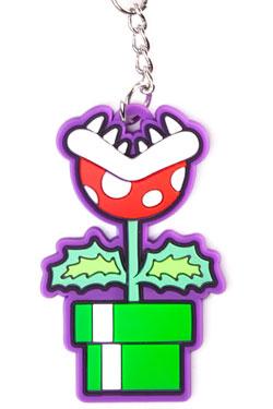 Nintendo Rubber Keychain Piranha Plant 6 cm