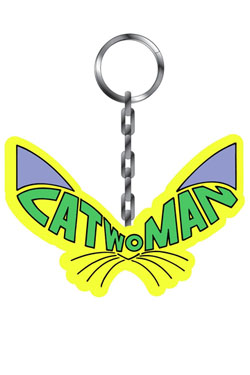 Catwoman Metal Keychain Catwoman Pack (6)