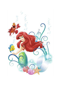 Disney Wall Decor Arielle 50 x 70 cm