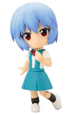 Evangelion 2.0 You Can (Not) Advance Cu-Poche Action Figure Rei Ayanami 11 cm