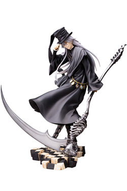 Black Butler Book of Circus ARTFXJ Statue 1/8 Undertaker 25 cm
