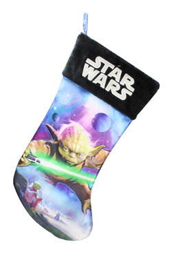 Star Wars Christmas Stocking Yoda 45 cm