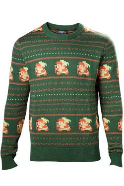 The Legend of Zelda Sweater Link Christmas green Size XL
