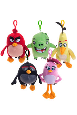 Angry Birds Plushie Backpack Hangers Assortment (10)