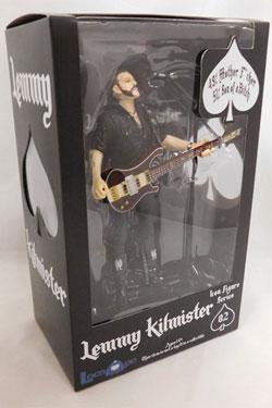 Motörhead Action Figure Lemmy Kilmister Rickenbacker Guitar Dark Wood 16 cm