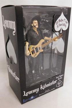Motörhead Action Figure Lemmy Kilmister Rickenbacker Guitar Eagle 16 cm