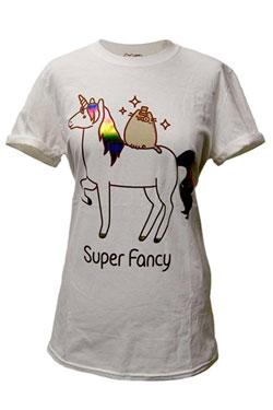 Pusheen Ladies T-Shirt Super Fancy Size L