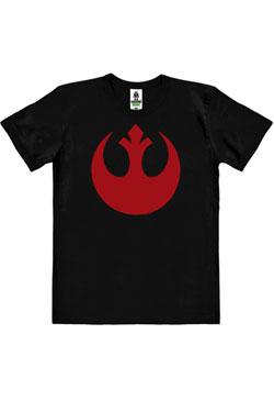Star Wars Easy Fit Organic T-Shirt Rebel Alliance Logo Size L