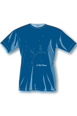 The Little Prince T-Shirt Dark Blue Icon Size S