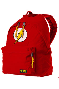 The Flash Backpack Flash Logo