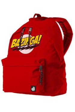 Superman Backpack Bazinga Logo