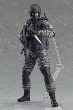 Metal Gear Solid 2 Sons of Liberty Figma Action Figure Gurlukovich Soldier 16 cm