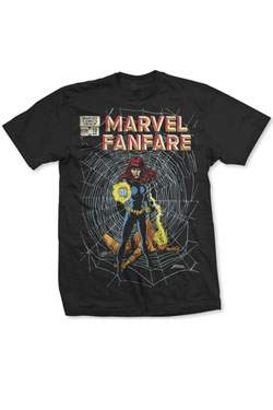 Marvel Comics T-Shirt Marvel Fanfare Size M