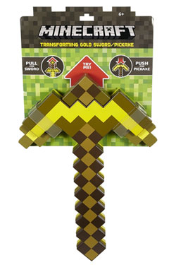 Minecraft 2-in-1 Transforming Sword/Pickaxe